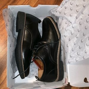 NEW in box black dress shoes